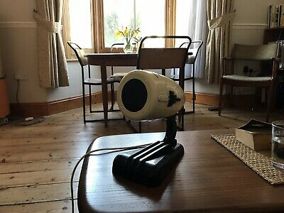 Vintage, Bauhaus, Art Deco Design Sollux Hanau Lamp 1930's German