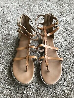 0452be931dce OLD NAVY WOMENS Gladiator Sandal Lace Up Green Jade Suede Boho Flat ...
