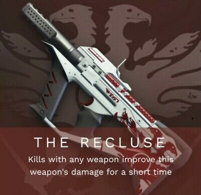 Destiny 2 The Recluse TOP 100 Player (PS4) 2100 Points