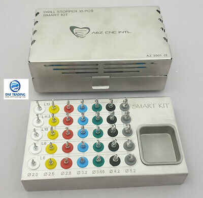 Dental Surgical Implant Drill Kit of 35 Drills / Smart Drills Implant Kit Oo