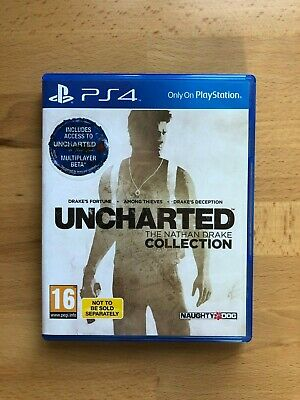 PS4:  Uncharted - The Nathan Drake Collection