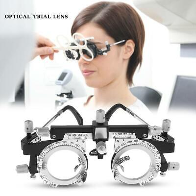 Professional Adjustable Optical Optic Eye Optometry Test Trial Lenses Frame NEW