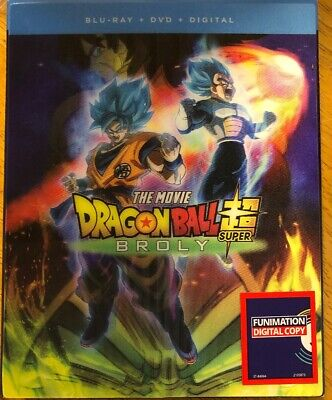 Dragon Ball Super: Broly (Blu-ray + DVD + Digital. Exclusive Lenticular Cover)