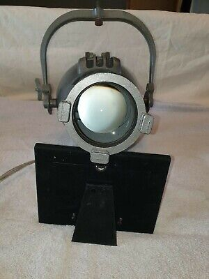theatre strand electric patt 23 vintage spotlight in great working condition.