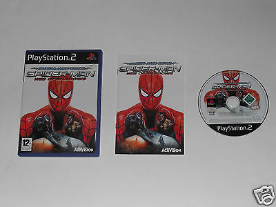 SPIDERMAN WEB OF SHADOWS for PLAYSTATION 2 'VERY RARE & HARD TO FIND'