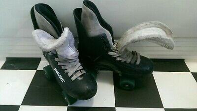 Genuine Bauer Turbo Quad Roller Skates Spares or repair size 7