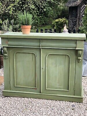 Antique Painted Sideboard  Buffet Shabby Chic