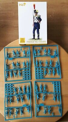 53 x HaT 1/72 French Voltigeurs Napoleonic figures set 8218 near complete set