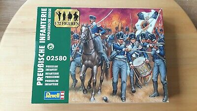1/72 Napoleonic Prussian Infantry figures set 02580 on sprues in sealed box.
