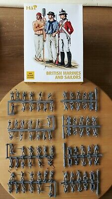 HaT 1/72 British Sailors and Marines  Napoleonic figures big set 8098 boxed
