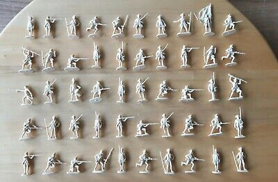 Revell 1/72 AWI British Infantry Redcoats figures set 02560 complete set of 50