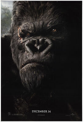 King Kong 2005 27x40 Orig Movie Poster FFF-74137 Rolled Fine, Very Good