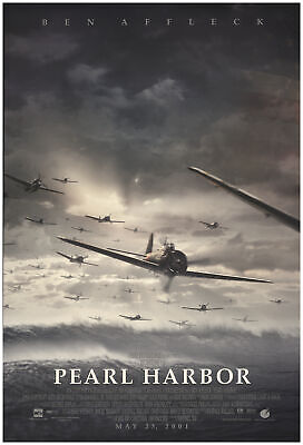 Pearl Harbor 2001 27x40 Orig Movie Poster FFF-74060 Rolled Fine, Very Good