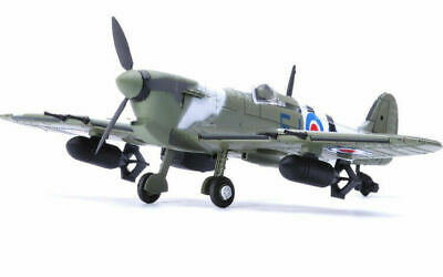 1/6pcs 1:48 Scale British Spitfire Fighter Aircraft Assemble toy Model Kit