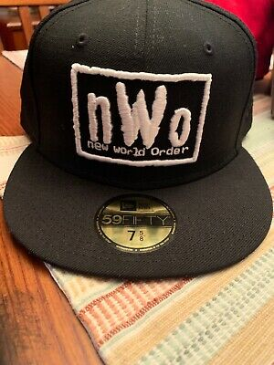 6193cbb6 NEW ERA WWE NWO Fitted Hat Mistagged Size See Description And Photos.
