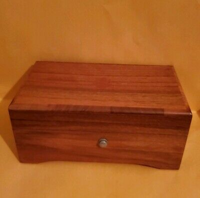 Thorens Music Box Inlaid Wood -Vintage 1950's,  Plays Four (4) Songs Beautifully