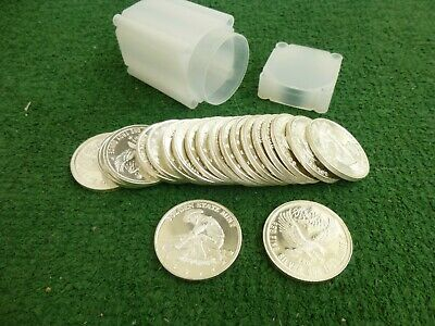 (1) Roll (Lot Of 20) 1 Troy Oz .999 Fine Silver Rounds Golden State Mint