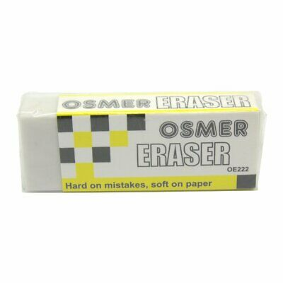 Osmer Pencil Eraser/s OE222 Size 20 Pick Quantity 1 2 3 4 5 10 Free delivery