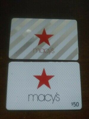Macy's Gift Cards $100 (2 - $50 gift card)