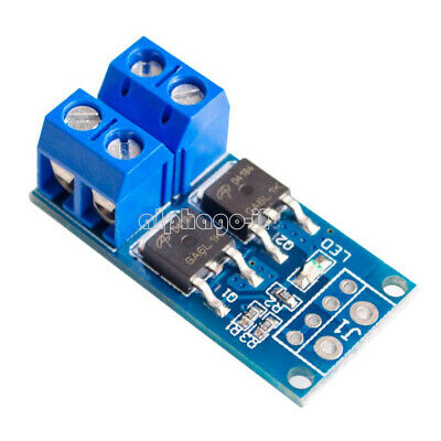 400W 15A MOS FET Trigger Switch Drive Module PWM Regulator Control Panel