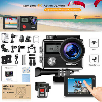 Campark HD 1080P Waterpoof Action Cam Sports Camera Helmet DV Camcorder Recorder