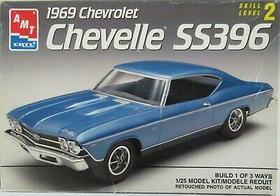 amt 1969 Chevelle SS 396, 1/25, Open, Complete (1991 Issue)