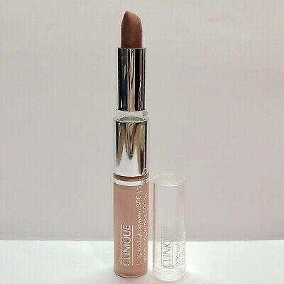 Clinique Long Last Glosswear  Air Kiss 10 & DIFFERENT LIPSTICK Think Bronze 51