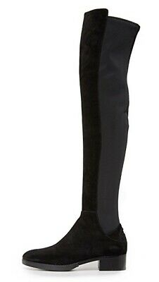 7df53aabe205 NEW TORY BURCH Caitlin Suede Neoprene Stretch Over the Knee Boots SZ ...