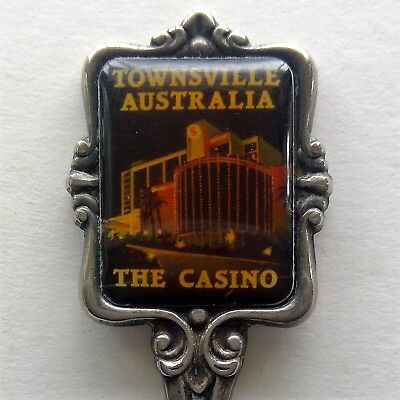Townsville Australia The Casino Souvenir Spoon Teaspoon (T115)