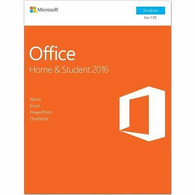 Microsoft Office Home and Student 2016, 1 user, PC Key Card 32bit/x64 English