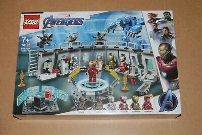 NEW Lego Marvel Super Heroes Iron Man Hall of Armour Avengers Endgame 76125 #1