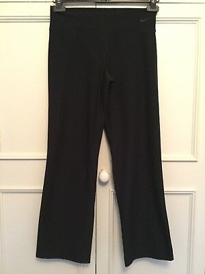 Nike Dri-Fit. Thick Black Wide Leg Leggings. Size Large / Age 12-13 Years.