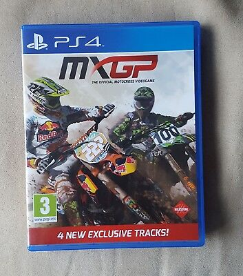 PS4 Game - MXGP Official Motocross Video Game for Playstation 4