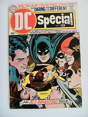 DC Special Collectors Items Comics Vol.1 no.1 All Infantino Issue Silver Age VG