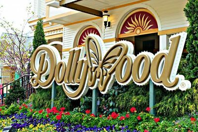 Dollywood Amusement Park Tickets Pigeon Forge, Tennesse.  Free Ship!