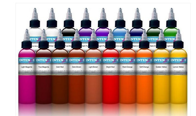 Colori Intenze 30Ml Originali Per Tattoo