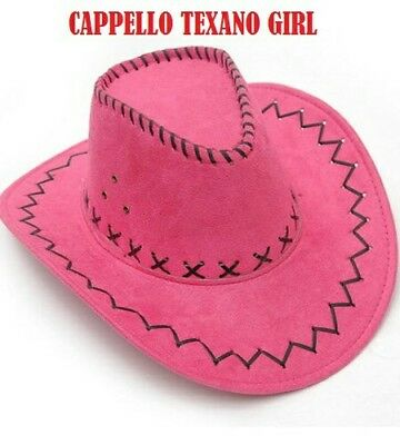 CAPPELLO DONNA/UOMO HAT COWBOY - Wild West Fancy Cowgirl Cappelli CARNEVALE 2019