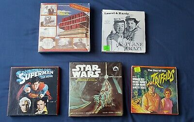 Star Wars, Superman, Day of the Triffids and more. Super 8 cine films.