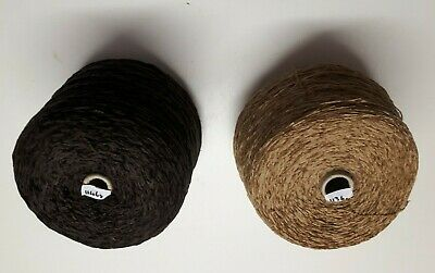 Chenille 1kg Acrylic 4 ply Cone - Pre-owned Unused