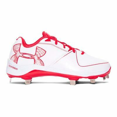 5f12ff896599 New UNDER ARMOUR Women's GLYDE 2.0 ST Low Metal Tips Softball Cleats - Size  6