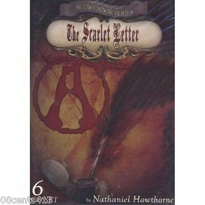 (Digiview) The Scarlet Letter (6-cd Juego Audiolibro) por Nathanial Hawthorne