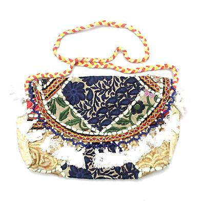 Vintage Tribal Banjara Indian Handmade Ethnic Women Purse Patchwork Clutch Bag