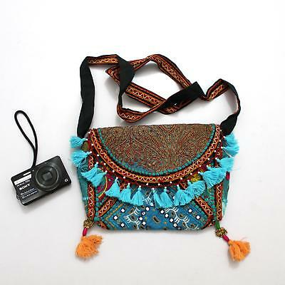 Vintage Tribal Banjara Indian Handmade Ethnic Women Boho Purse Gypsy Clutch Bag