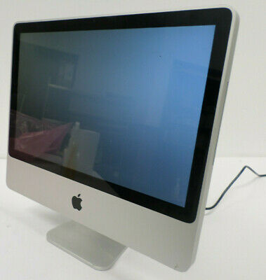 """Apple 20"""" iMac 8.1 Model: A1224 20"""" Core 2 Duo 2.66 GHz 2GB RAM 160GB -Tested-"""