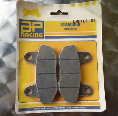 Paire de plaquettes AP RACING AVANT NEUVES HONDA CB 450/650 & Shadow 700/750
