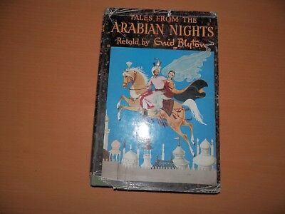 Enid Blyton Tales from the Arabian Nights Latimer House Hardback Jacket