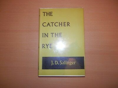 J D Salinger The Catcher in The Rye 1st edition 13th print Hamish Hamilton 1972