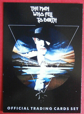 DAVID BOWIE, The Man Who Fell To Earth - Complete Base Set (54 Trading Cards)