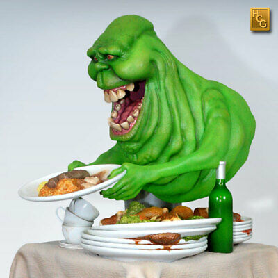 Slimer Exclusive Hcg 1/4 Statue Bust Prop Nt Lifesize Bust 1:1 Bust From Canada