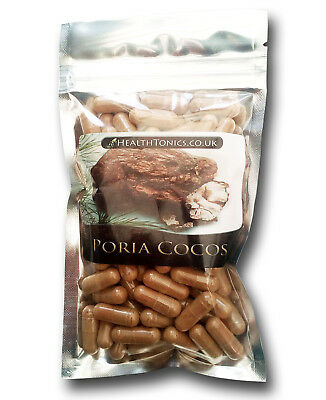 Poria Cocos Extract (10:1 equivalent to 4,500mg ), Vegetarian Capsules